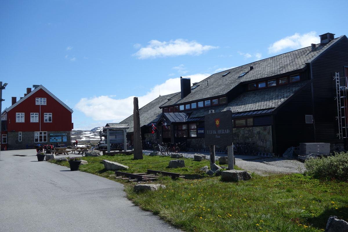 Hotellet Finse 1222