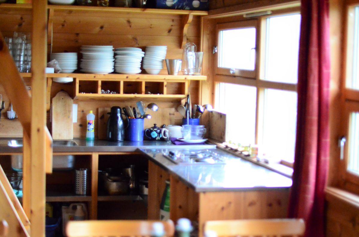 Koselig kjøkkenkrok