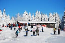 Lageråkvisla - skileik på Kom deg ut-dagen - Foto: Margrete Ruud Skjeseth