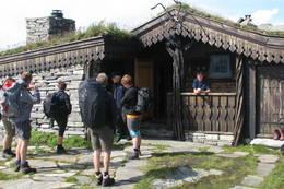 Hovedhytten ved Breiablikk hytteanlegg - Foto: Torstein Tylden