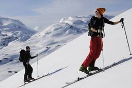På vei til toppen - Foto: Julie Maske