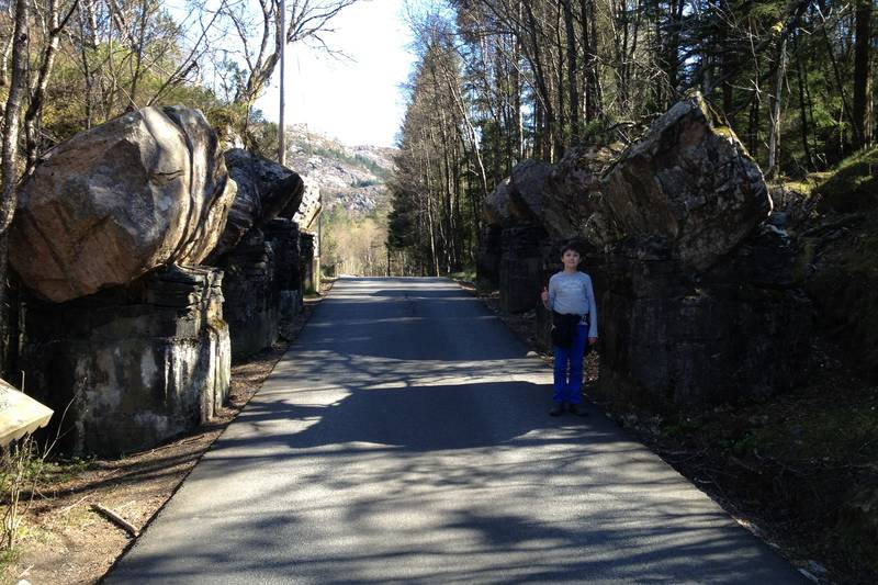 Naturopplevelser Og Historie Pa Fjell Festning