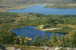 Utsikt mot Jøldalshytta  - Foto: Knut Lillealtern