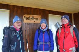 Vestfjellhytta - dugnadsfolk - Foto: Ragnvald Jevne
