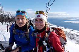 To blide skigåere -  Foto: Øystein Ruud
