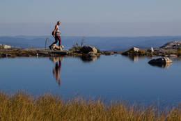Osen til Langetjønn mot Bø-dalen - Foto: Astrid Brockhus