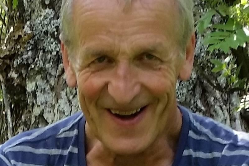 Lars Schelderup er tilsyn på hytta