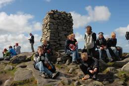 Folksomt på toppen - Foto: Anne Katrine Lycke
