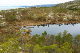 Oterågvatnet - på tur opp til høyde 113 - Foto: Kjell Fredriksen