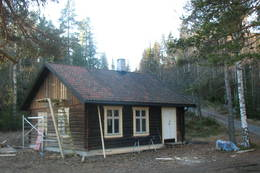 Hytta er tilpassa til turisthytte  - Foto: Anne Gallefos Wollertsen
