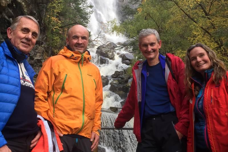 Viktige personar for Trivselsskogen på tur