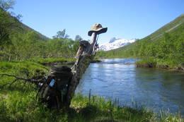 Svartådalen med Snota i bakgrunnen - Foto: Knut Balstad