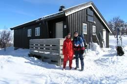 Hyttevakter på Eldåbu, påsken 2006 - Foto: Torfinn Evensen