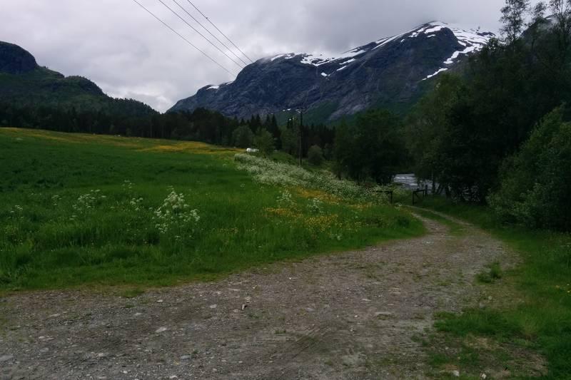 Utgangspunk ved Karbø