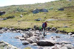 Heiberghytta. Vakreste lille hytta i Sirdalen!  - Foto: Mona Winge
