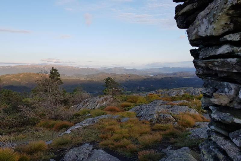 Utsikten mot Sveio