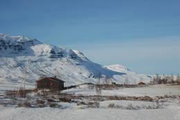Skarvheim ligger like ved Breistølen på Hemsedalsfjellet. - Foto: Kari Merete Horne