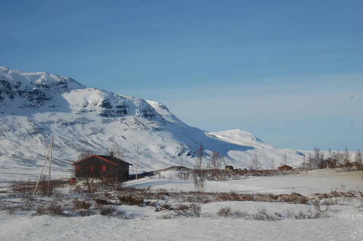 Skarvheim ligger like ved Breistølen på Hemsedalsfjellet.