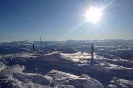 Bra utsikt fra toppen! -  Foto: KSF