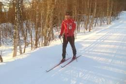 Skitur på vinteren, vandring eller sykkel på sommeren - Foto: Ukjent