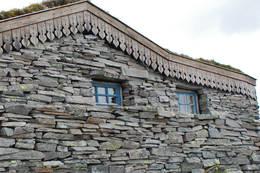 Besøk på hytteslottet Breidablikk i Kvam. - Foto: Torill Refsdal Aase