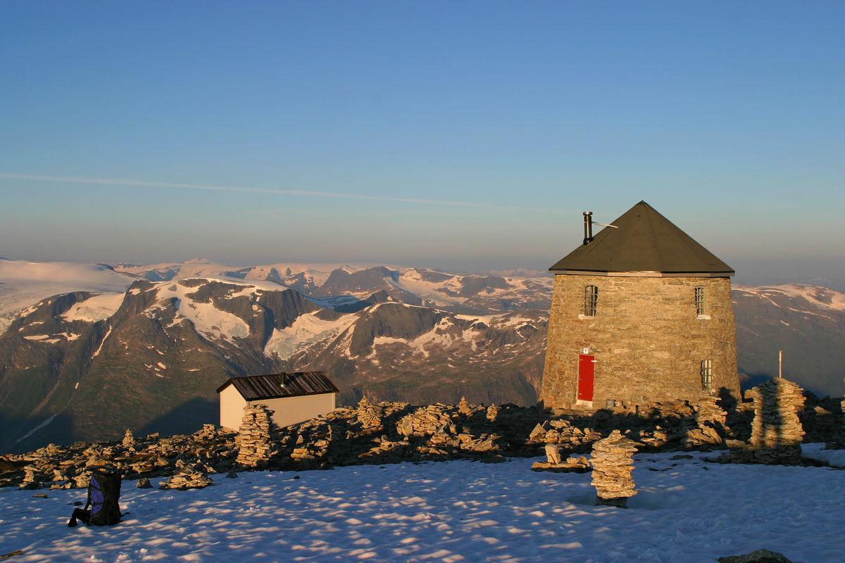 Morgenstund ved Skålatårnet.