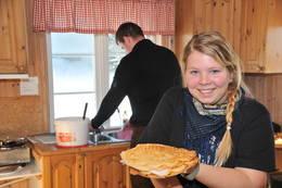 Vaffelvakter på Fugleleiken, Svanstul, Telemark Turistforening - Foto: Morten V. Pettersen