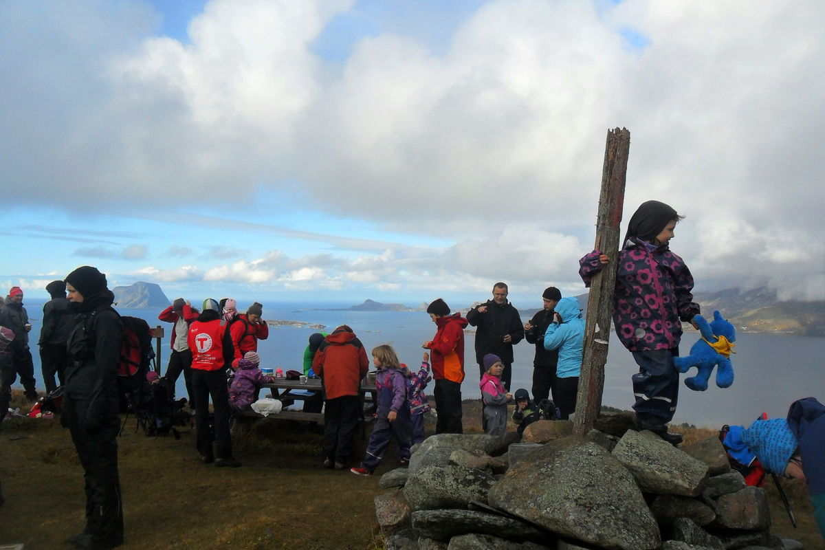 Folksomt på Einingsfjellet