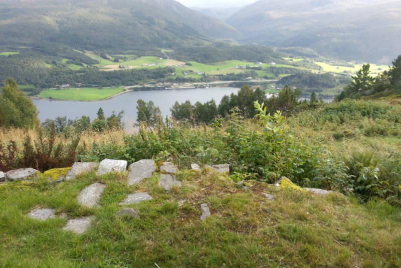 Utsikt mot Vinjefjorden
