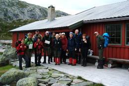 Klar til avgang etter en natt på Nilsebu - Foto: Ukjent