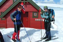 Skitur til Skavlabu er fin 17.-maifeiring. - Foto: Nordhordland Turlag