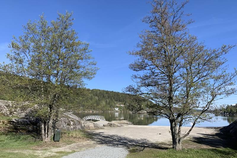 Fine bademuligheter på Breivoll Gård