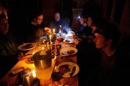 Selvbetjent middag - Foto: Erland Flaten