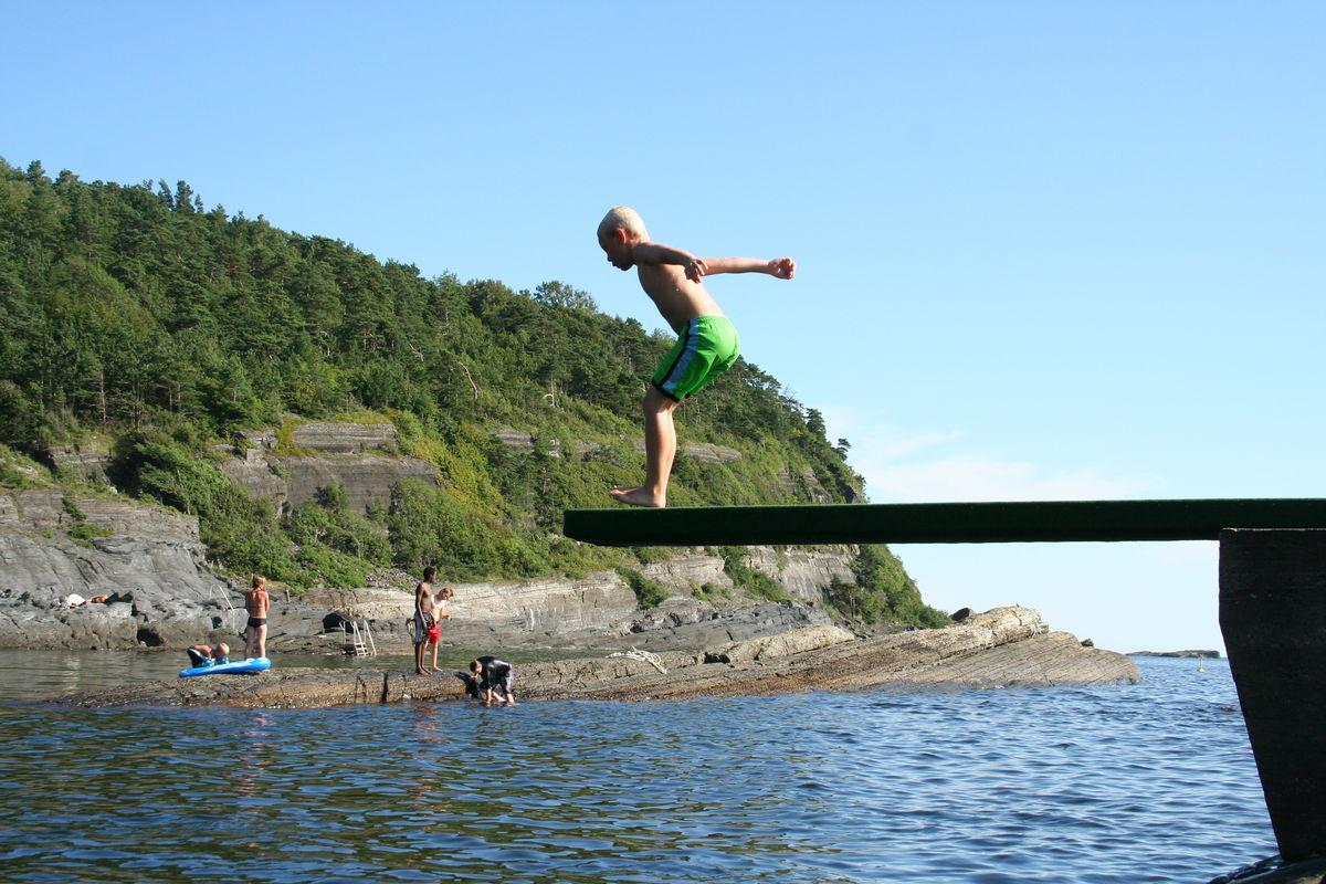 Sommer i Steinvika