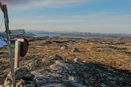 Turkassen med utsikt over Kirkenes -  Foto: KMO
