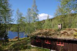 Svartvannshytta i Vestmarka - Foto: Kari Merete Horne