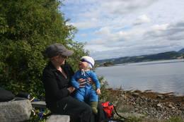 En rast ved sjøen er aldri feil - Foto: Kathrine Kragøe Skjelvan