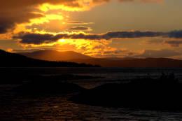 Kveldssol over Fjergen - Foto: NTT