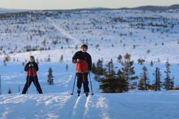 Snart på toppen av Svaen -  Foto: Trond Lillebo