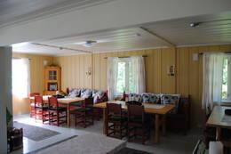 Stue med spiseplasser - Foto: Ukjent