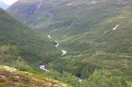 Utsikt mot Vormeli frå toppen av Bjørnestigen -  Foto: Kim Steffen Moen