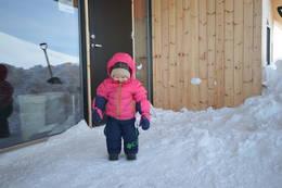 Hytta passer godt for barn - Foto: