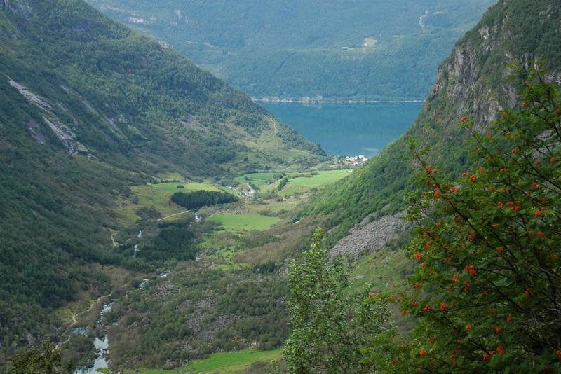 Bondhusdalen sett fra Keiserstien