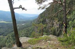 Toppen av Svarverudberga  - Foto: Ragnar Manengen