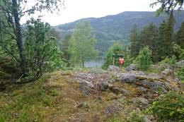 Utsiktspunkt ved Langberga -  Foto: Bo Lindblad
