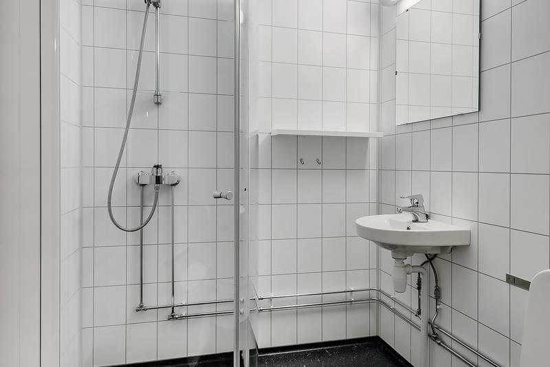 Bad på ett av rommene. Foto: Ludvig Killingberg