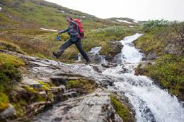 Mellom Sognefjellshytta og Skogadalsbøen - Foto: Sindre Thoresen Lønnes