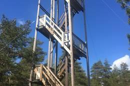 Utsiktstårnet på Rørfjell - Foto: Evy K. S. Eliassen
