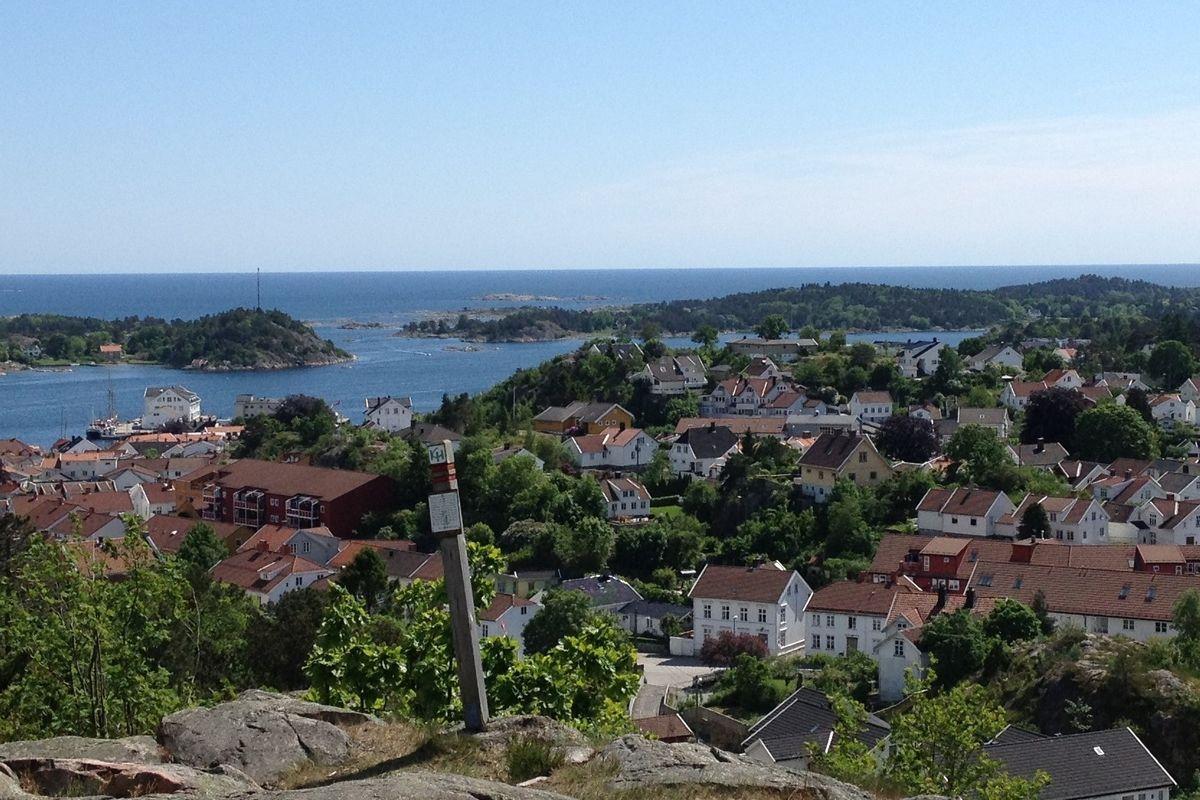Utsikt fra Fløyheia