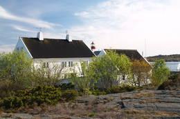 Turisthytta ved Lyngør fyr -  Foto: Jens Ragnar Larsen